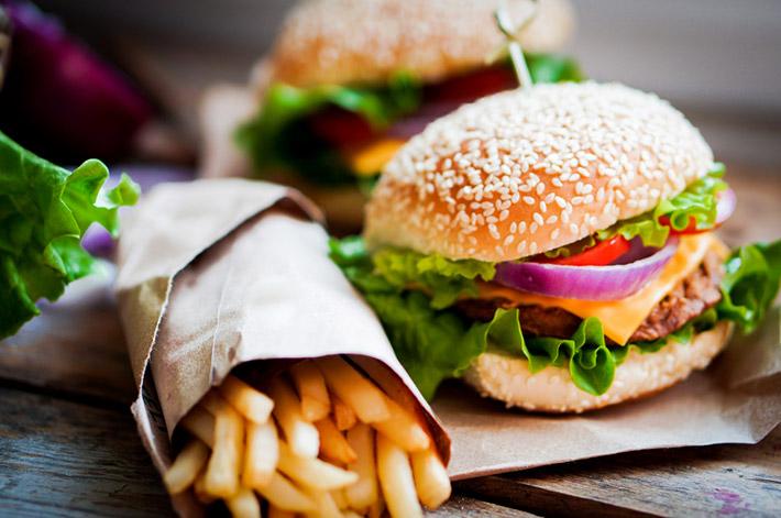 Acne Fast Food