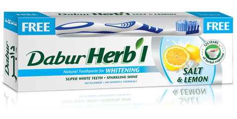 Dabur Herbal Salt & Lemon Whitening Toothpaste